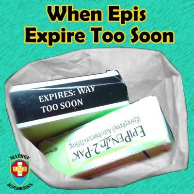 What to do when your Epinephrine Expires too soon