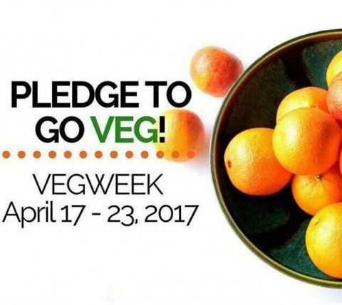 Time to Take the Pledge to Go Veg