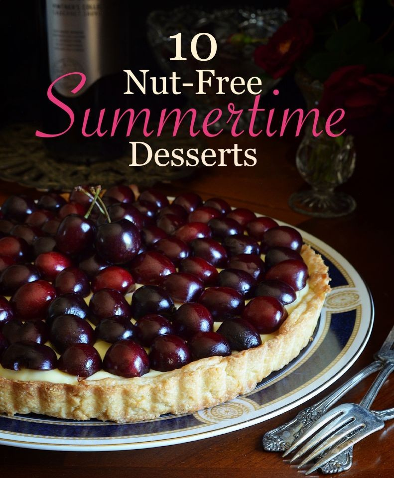 10 Nut-Free Desserts to Make Summer a Little Sweeter