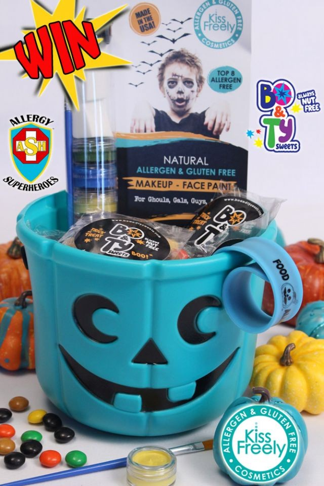 Teal-oween Pumpkin Candy Bucket-of-Treats Sweepstakes