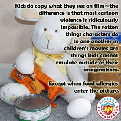Why using Allergens as a weapon in Peter Rabbit isn't the same as other cartoon violence