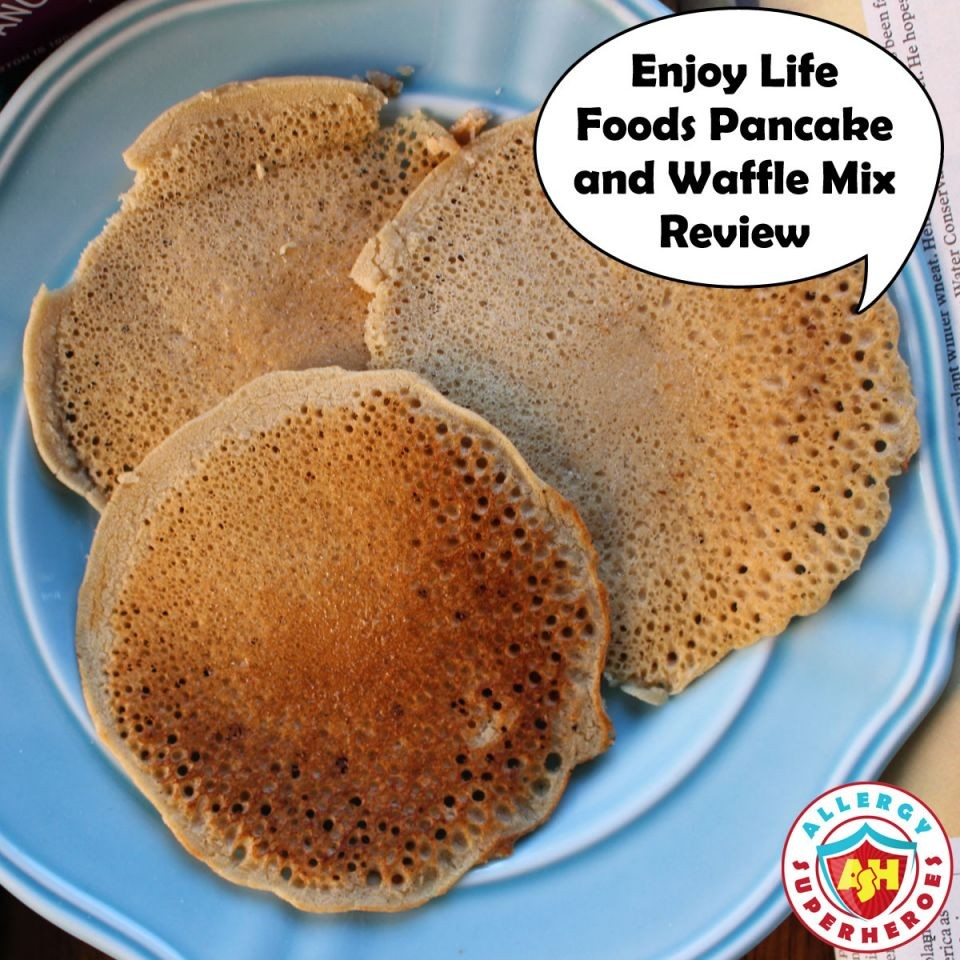 Enjoy Life Foods Pancake and Waffle Mix review