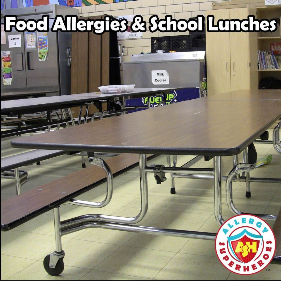 Food Allergies and School Lunches