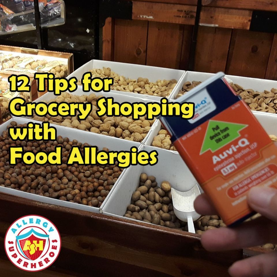 12 Tips for Grocery Shopping with Food Allergies