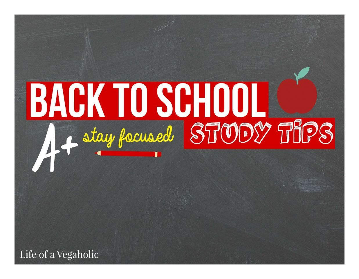 Back To School Study Tips | Stay Focused