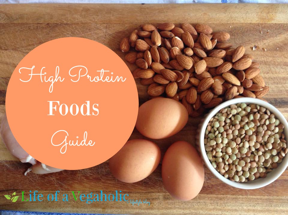 High Protein Foods Guide