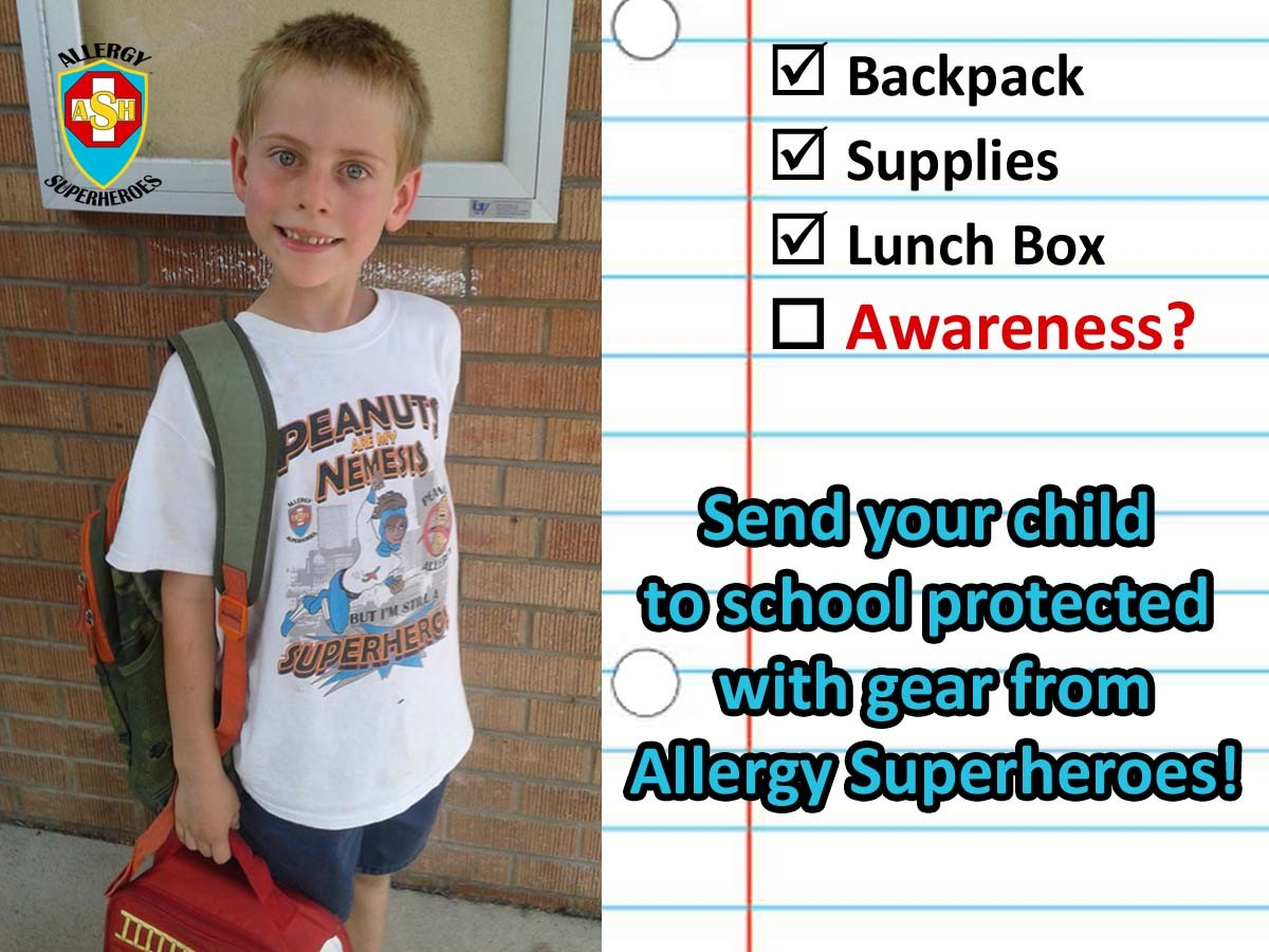 Back to School with Food Allergies- Questions Allergic Kids Should Answer