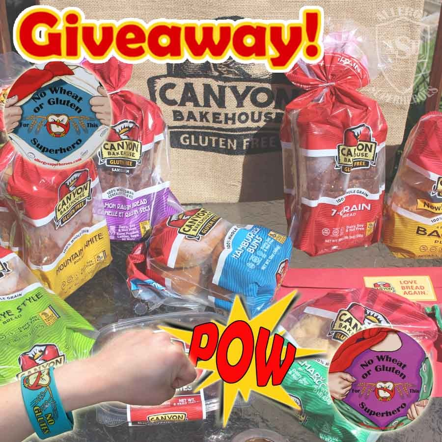 Canyon Gluten Free Bakehouse GIVEAWAY!