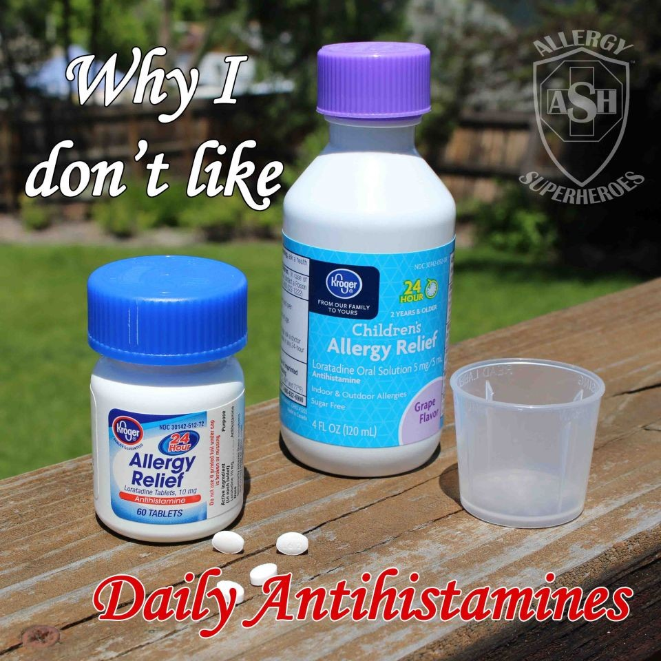 Why I Don't Like Daily Antihistamines