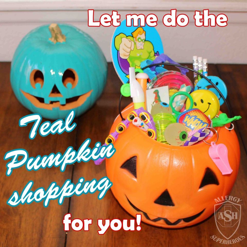 The Teal Pumpkin Project with Oriental Trading Co