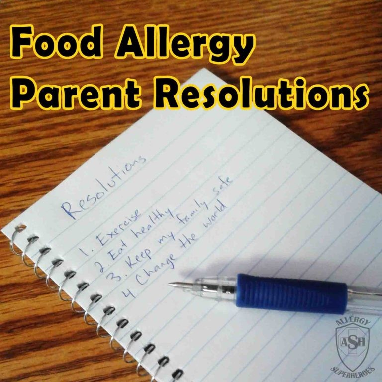 Resolutions for the Food Allergy Parent