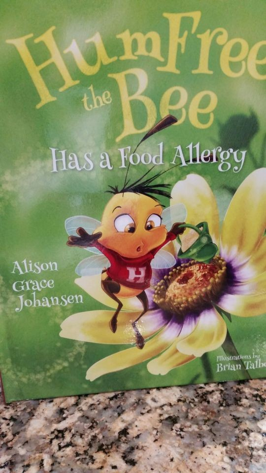 Review of Hum Free the Bee Has a Food Allergy