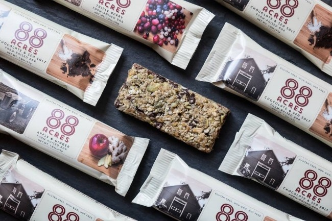 """Free-From"" Business Spotlight: Nicole Ledoux, Founder of 88 Acres, Non-GMO, Vegan, Nut-Free, Gluten-Free, Healthy Snack Company"