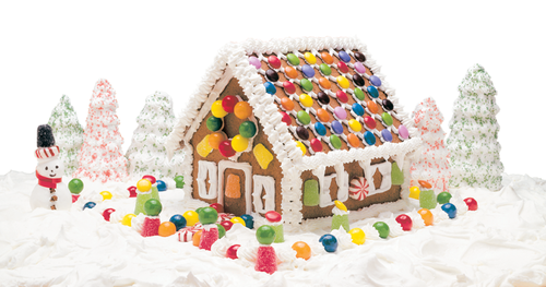 Allergy-Free Gingerbread House Kits & Recipes