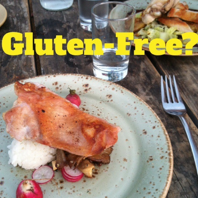 Why your Gluten-Free Menu is NOT Gluten-Free
