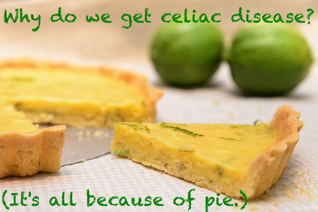 Why do people get celiac disease?