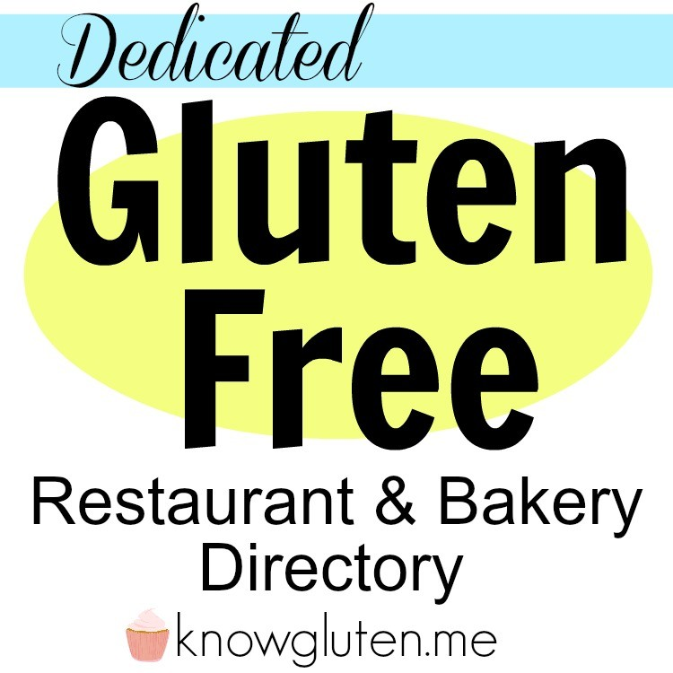 100 % Gluten Free Restaurant and Bakery Directory!