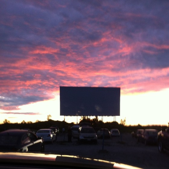 A Night At The Drive-in!