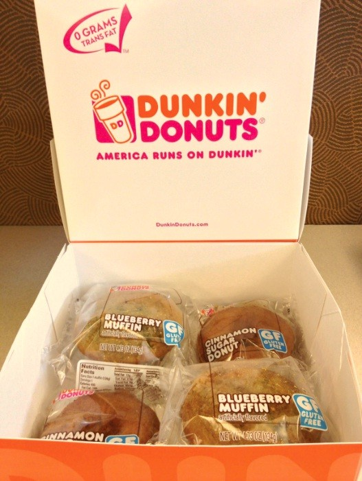 Dunkin' Donuts Decides Against Gluten Free Products