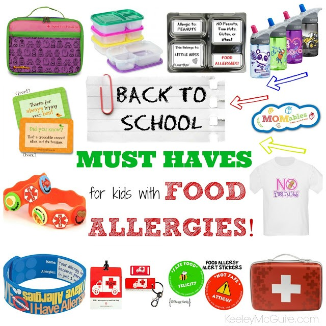 Back to School with Food Allergies & Intolerances ~ MUST HAVES!