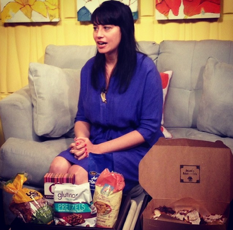 Catch me talking about gluten-free on AZTV!