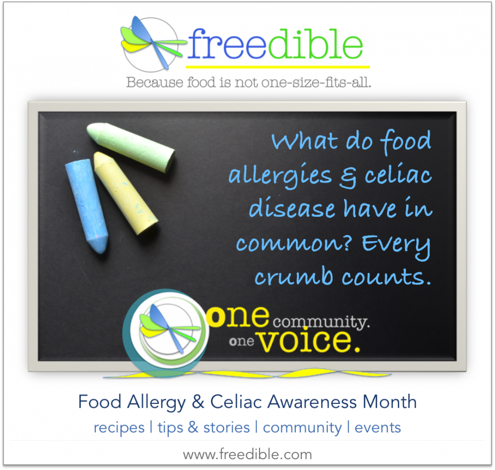 One Community, One Voice: How Food Allergies & Celiac Disease Awareness Month is Stronger as One