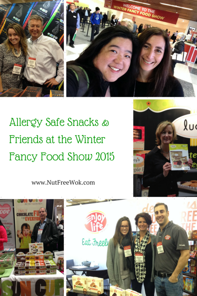 Nut Free Wok's Allergy Friendly Products at the Winter Fancy Food Show 2015