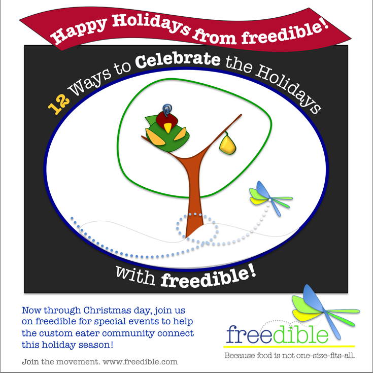 12 Ways to Promote Your Blog While Celebrating the Holidays with freedible!