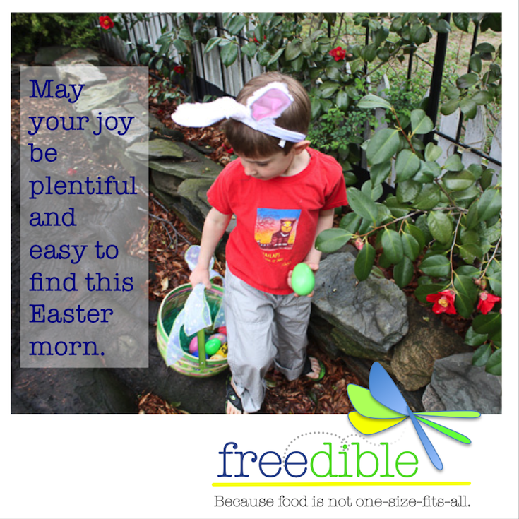 Happy Easter from TeamFreedible to all who celebrate!