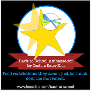 Join us as a Back to School Ambassador for Custom Eater Kids!