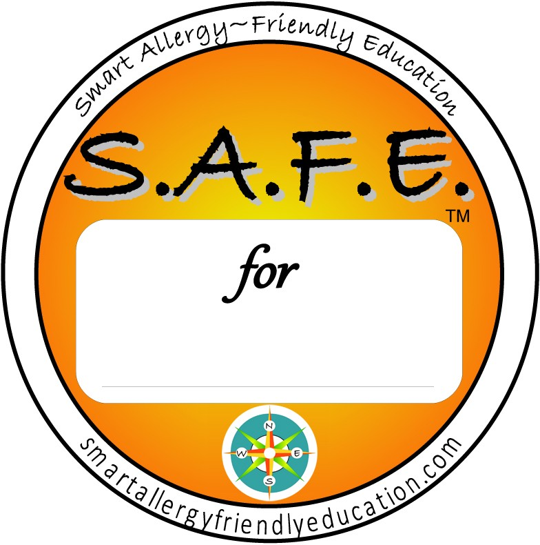 Stay S.A.F.E. with Smart Allergy-Friendly Education Labels