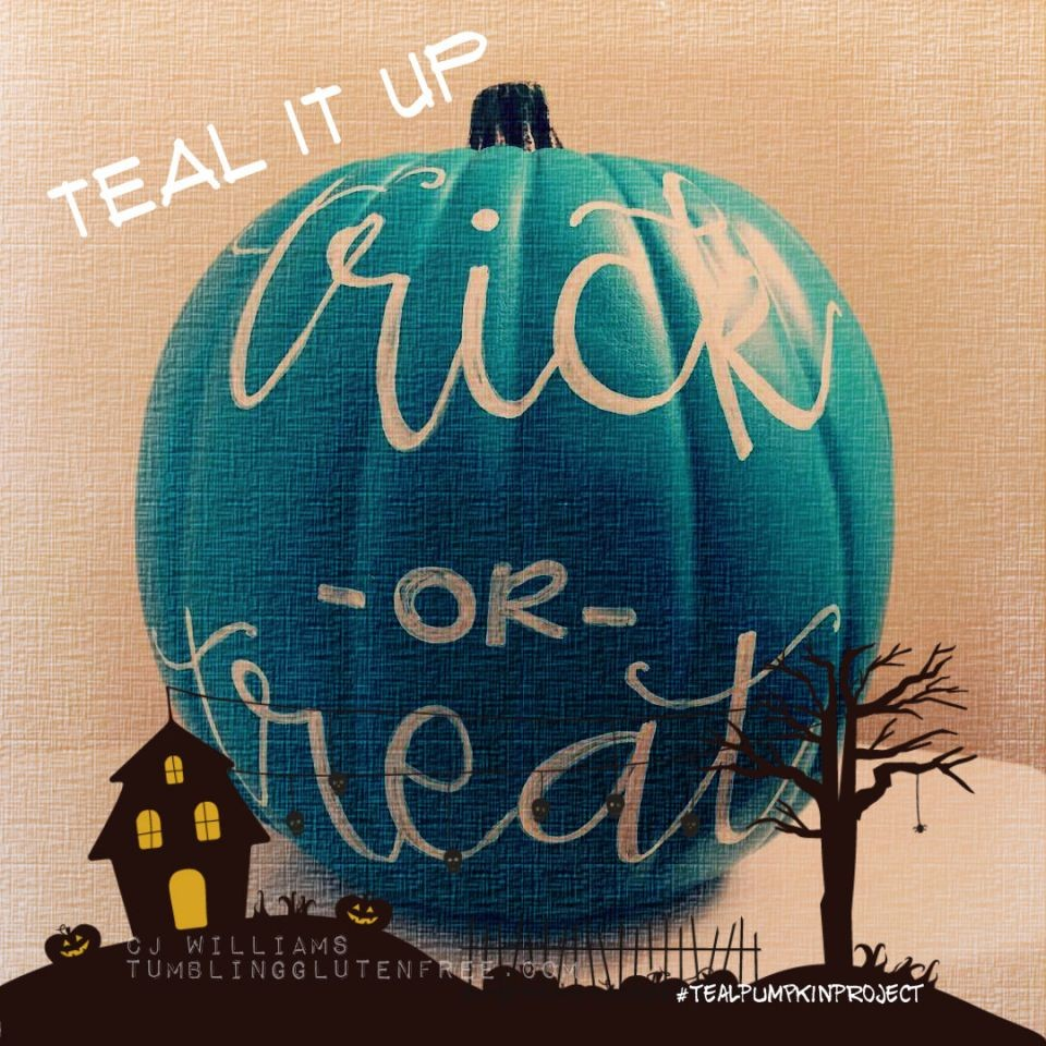 "Put ""I Can"" Into Celiac During Halloween: Teal Pumpkins Galore"