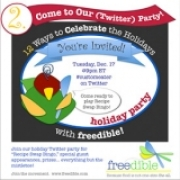 The freedible Holiday (Twitter) Party