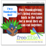 freedible Thanksgiving Hosts