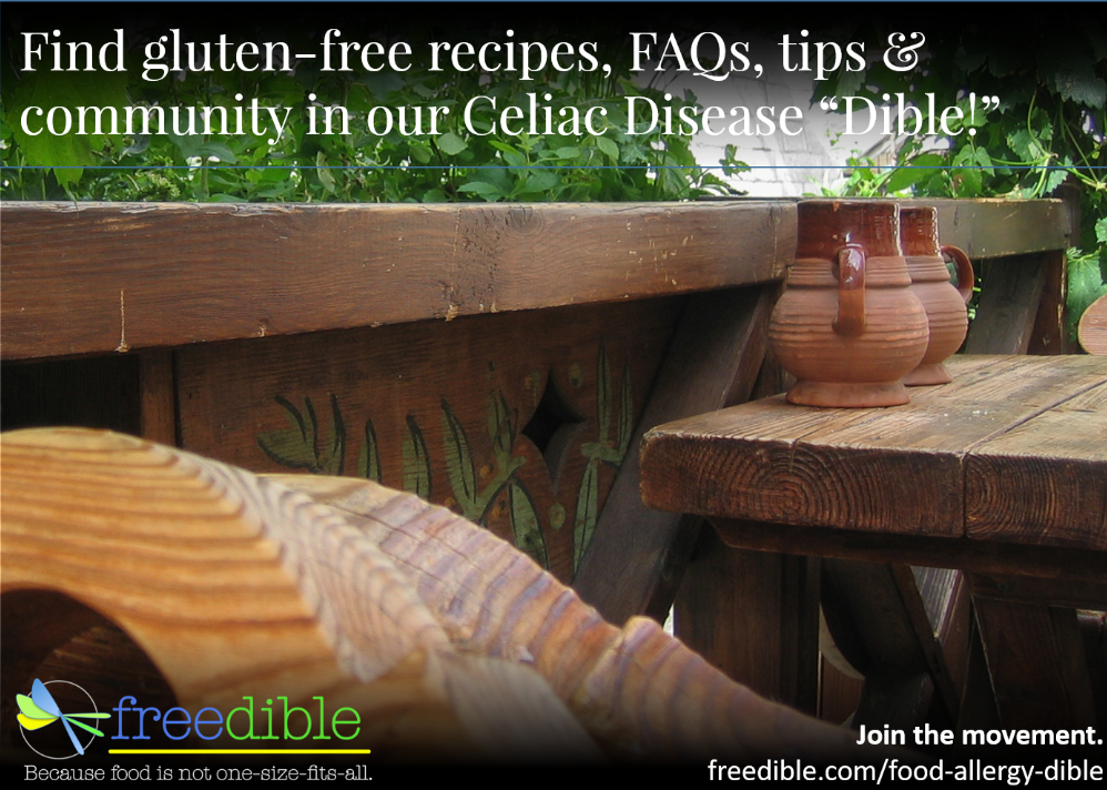 Gluten-free recipes & tips for Celiac Awareness Month!