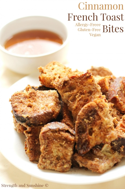 Gluten-Free Cinnamon French Toast Bites (Allergy-Free, Vegan)