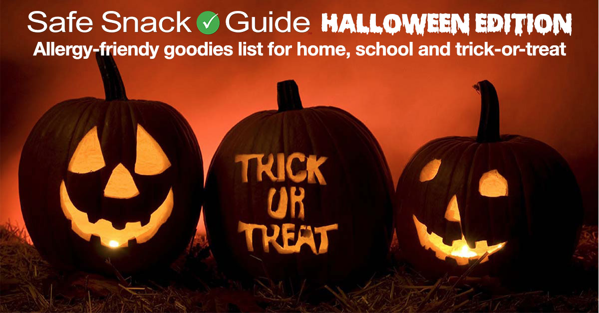 Safe Snack Guide Halloween 2018 Edition