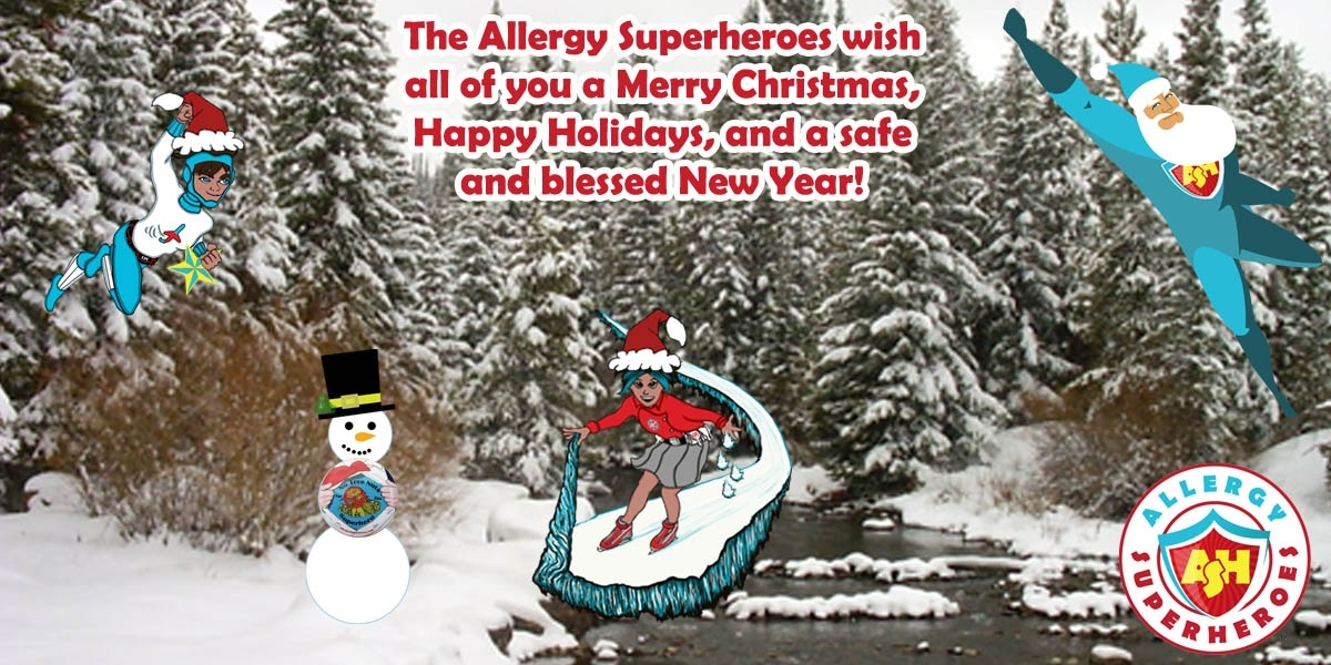 Merry Christmas Happy Holidays from the Food Allergy Superheroes T.jpg