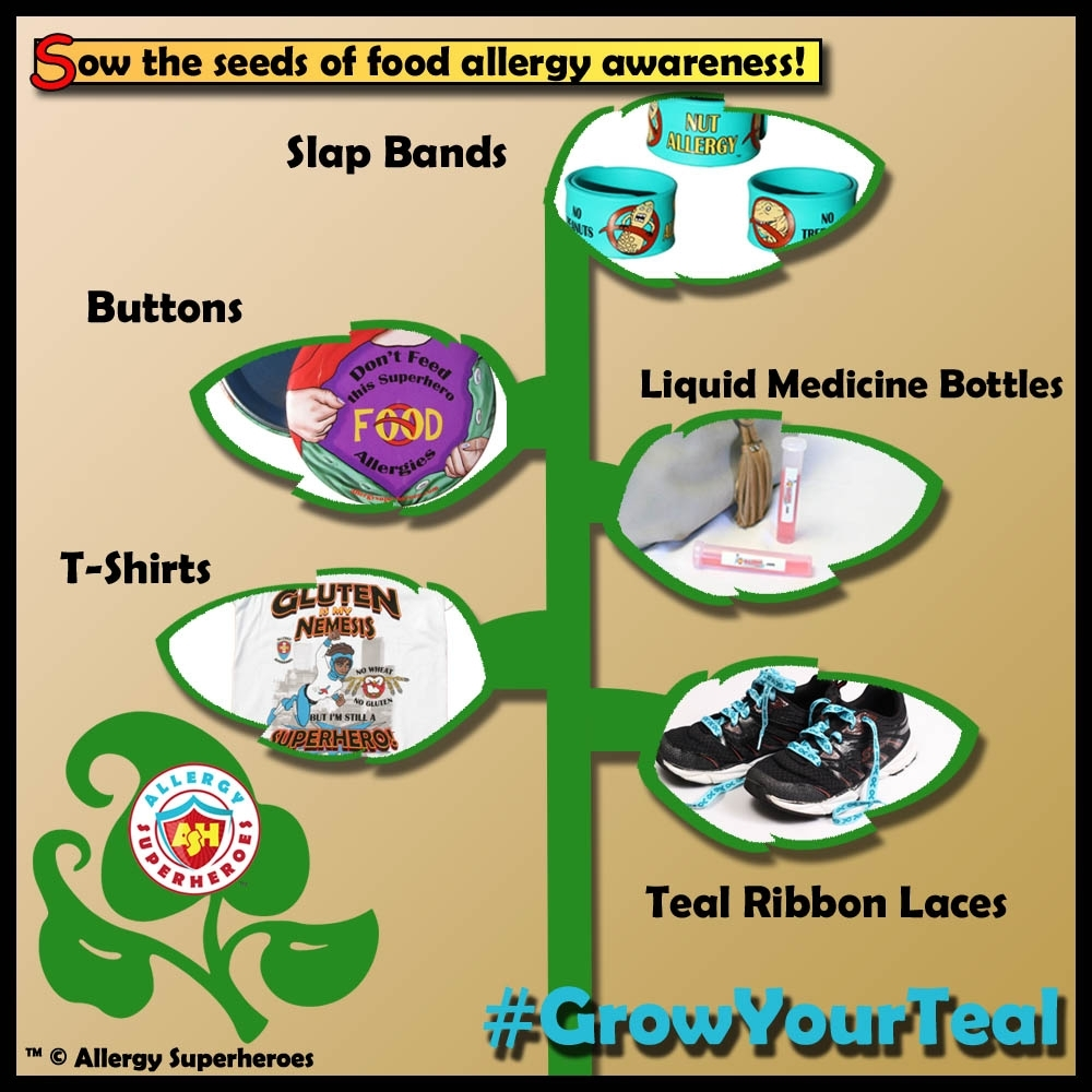 Food Allergy Awareness Products by Allergy Superheroes #GrowYourTeal.jpg