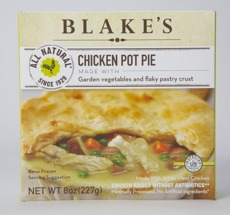 2fbccfb658e47f3f9c21337d.jpg - Our Chicken Pot Pie is made with organic and all natural ingredients featuring hand-pulled white meat chicken, freshly cut potatoes, vegetables and pie crust made fresh every day. Contains wheat and soy. This is one of the few pot pies that is dairy-free on the market.