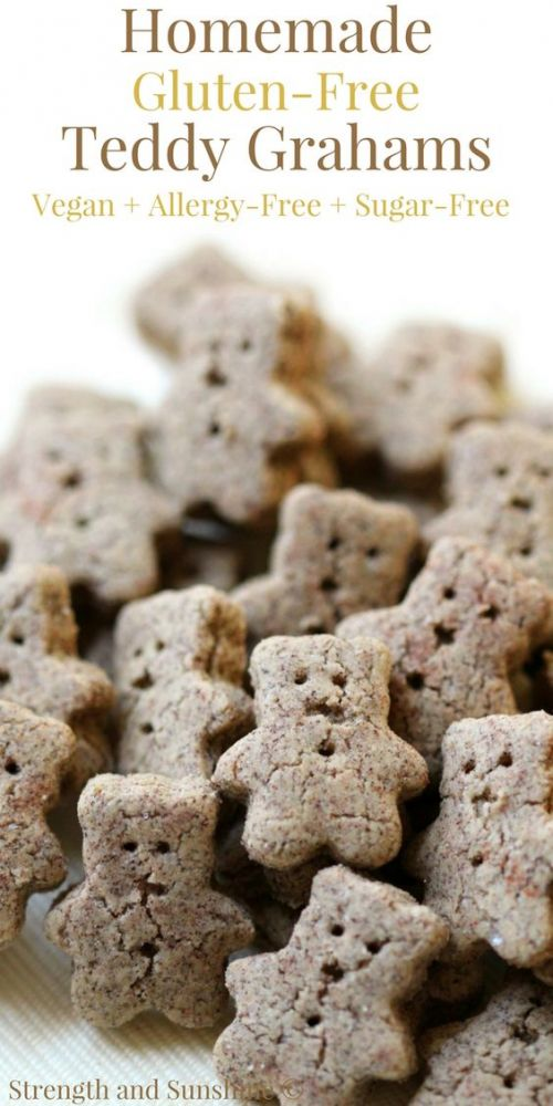 Homemade Gluten-Free Teddy Grahams