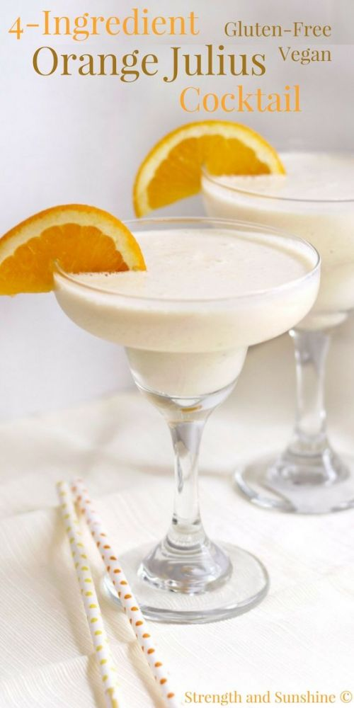 Four-Ingredient Orange Julius Cocktail