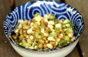 Seriously Simple Sprouted Mung Bean Salad