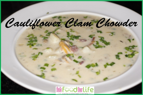 Cauliflower Clam Chowder