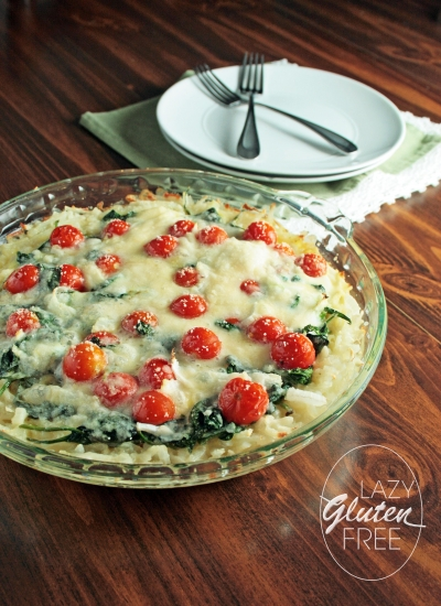 Spinach Tomato Pie