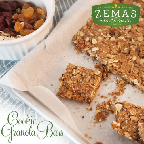 Cookie Granola Bar