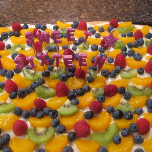 Nut-Free SunButter Fruit Pizza