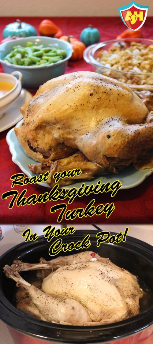 Thanksgiving Turkey in a Crock Pot
