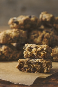 Gluten Free, Vegan Oatmeal Chocolate Chip Cookies