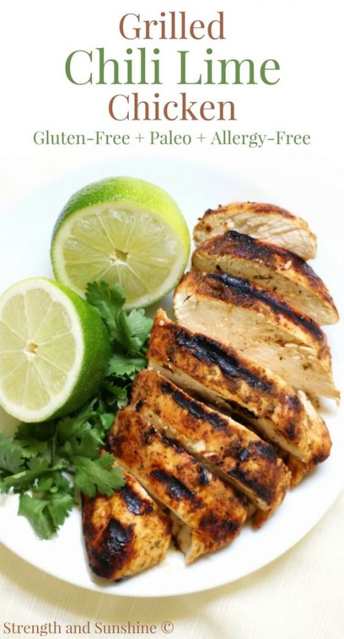 Grilled Chili Lime Chicken